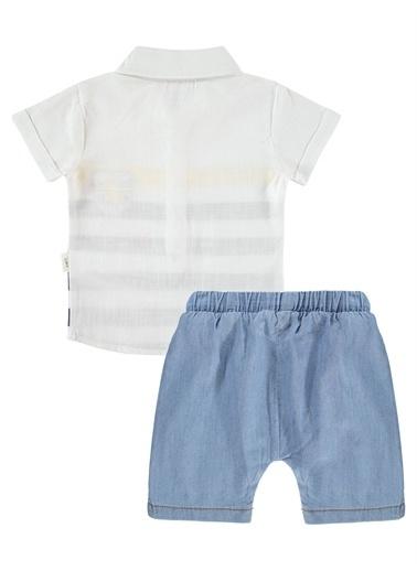 Civil Baby Civil Baby Erkek Bebek şortlu Takım 3-12 Ay Sarı Civil Baby Erkek Bebek şortlu Takım 3-12 Ay Sarı Beyaz